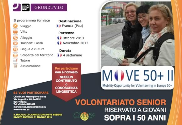 senior volunter