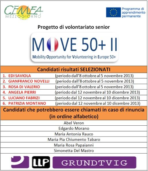 risultati selezioni move50+