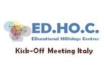 ED.HO.C. – KICK -OFF MEETING ITALY